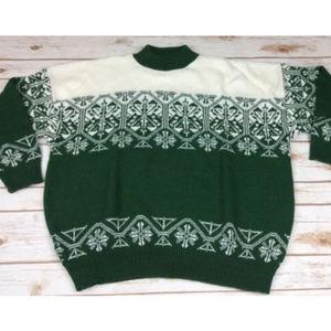 VTG American Pride Nordic Sweater Sz 22W